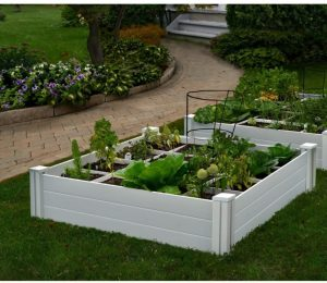 4X4 Garden Bed With Grow Grid
